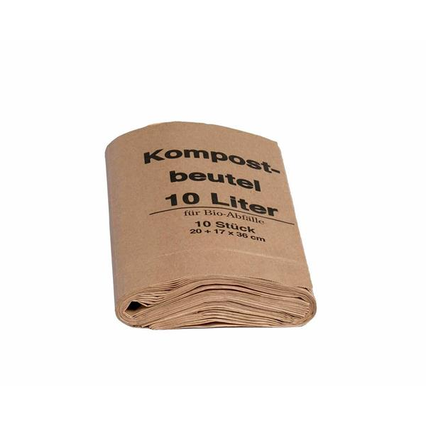 Bio Kompostbeutel Extra 10 lt 10er Pack
