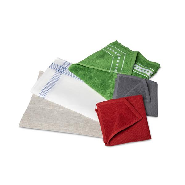 Basic Naturfaser Tuch Set Bad