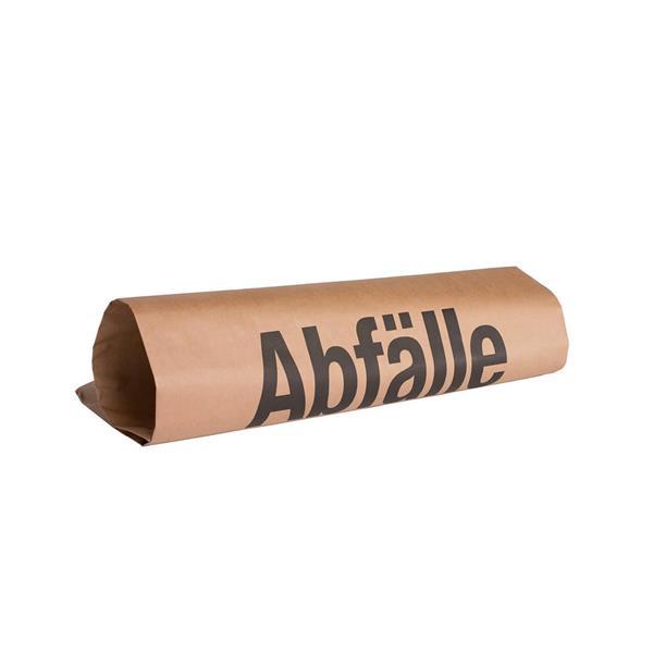 Abfallsack Papier mit Aufdruck 120 l