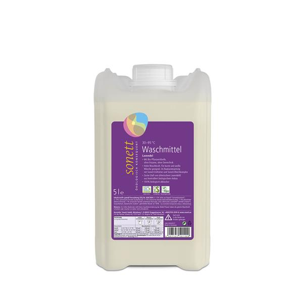Sonett Lavendel Flüssig-Waschmittel 5 ltr