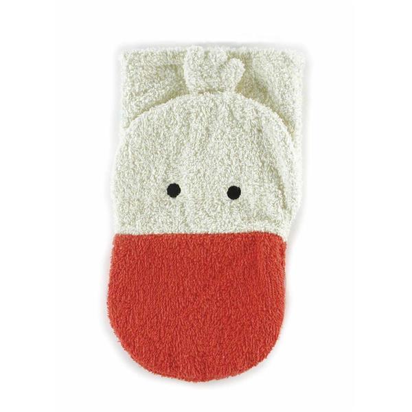 Kinder Motiv Wasch-Handschuh - Gans